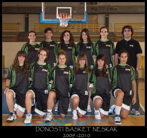 Donosti Basket Neskak Junior